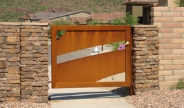 Commercial Entry Gates in Las Vegas - Kaiser Garage Door & Gates
