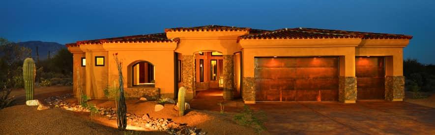 custom rustic garage doors in Tucson - Kasier Garage Doors & Gates